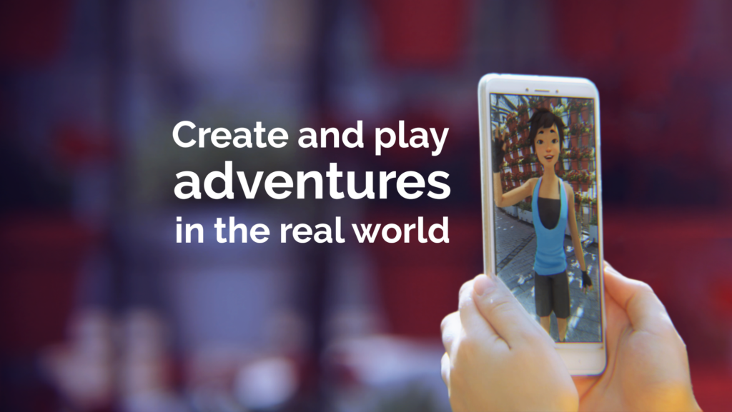 Create and play adventures in the real world
